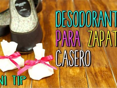 Mini Tip #35 Quitar olor Zapatos - Desodorante casero para pies y zapatos - Life Hacks Español