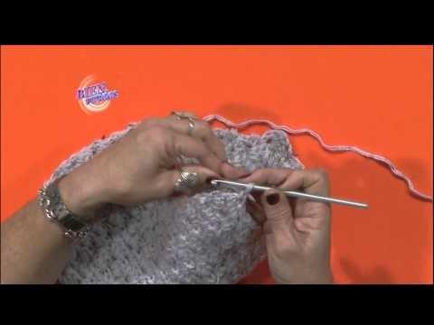 Mónica Astudillo - Bienvenidas en HD - Teje un saco al crochet.