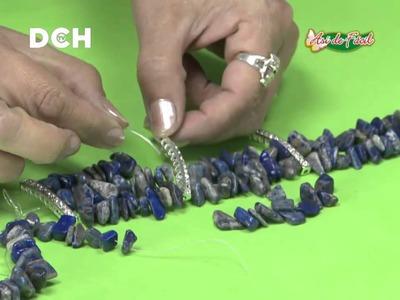 Pulsera con elástico y Piedras - Yasna Pino