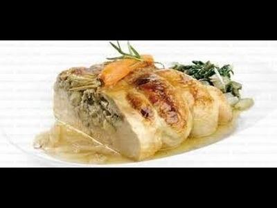 Receta: Pollo Relleno Casero (Facil Y Rico) - Silvana Cocina Y Manualidades