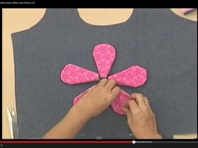Sonia Franco. Programa Nuestra Casa. Bolso con Flores 2.5