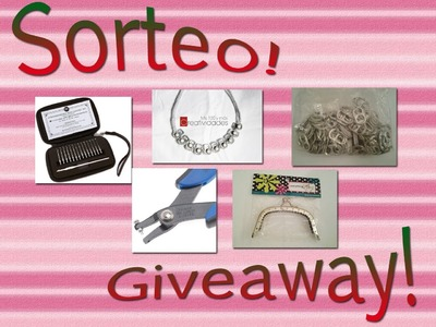 Sorteo Internacional.International Giveaway CERRADO.CLOSED