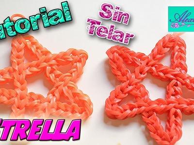♥ Tutorial: Estrella de 5 puntas de gomitas (sin telar) ♥