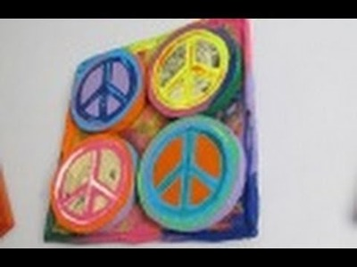 2.6 Manualidades: CUADRO PEACE 3D ☮ - floritere - 2011