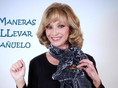 4 Maneras de LLevar un Pañuelo-Fulard-Bufanda o Scarf