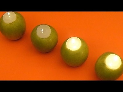 Centro de Mesa de Manzanas - DIY - Apple Centerpiece