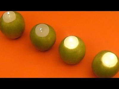 Centro de Mesa de Manzanas - DIY - Apple Centerpiece