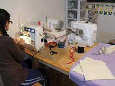 Cómo coser una bolsa de jareta