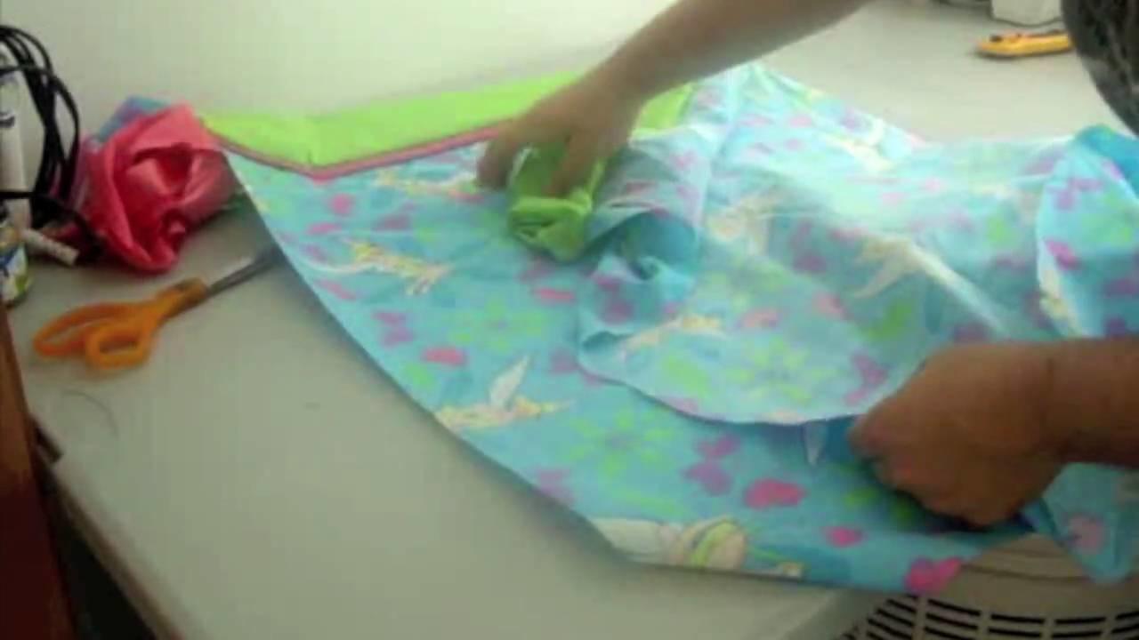 Cómo coser una funda para almohada parte 2 - La receta de la abuelita