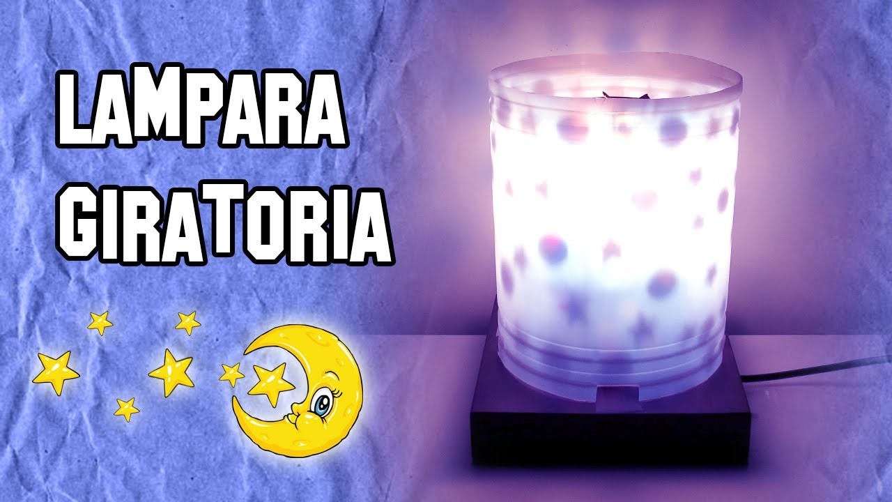 Como Hacer Lámparas Giratorias | How to Make Lamps Swivel