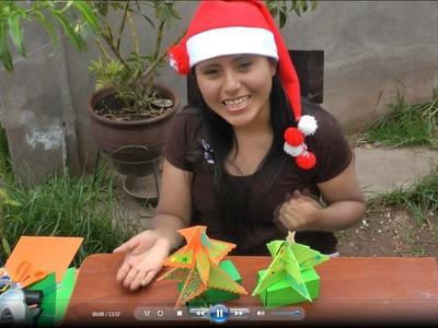 Como Hacer Una Tarjeta De Navidad 3D Fácil y Sencilla
