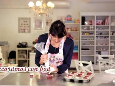 Cómo hacer unos Cupcakes Red Velvet