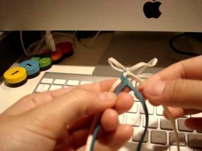 Cordón de 4 cabos planos