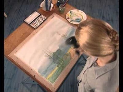 Curso practico de dibujo - acuarela, trabajo con veladuras