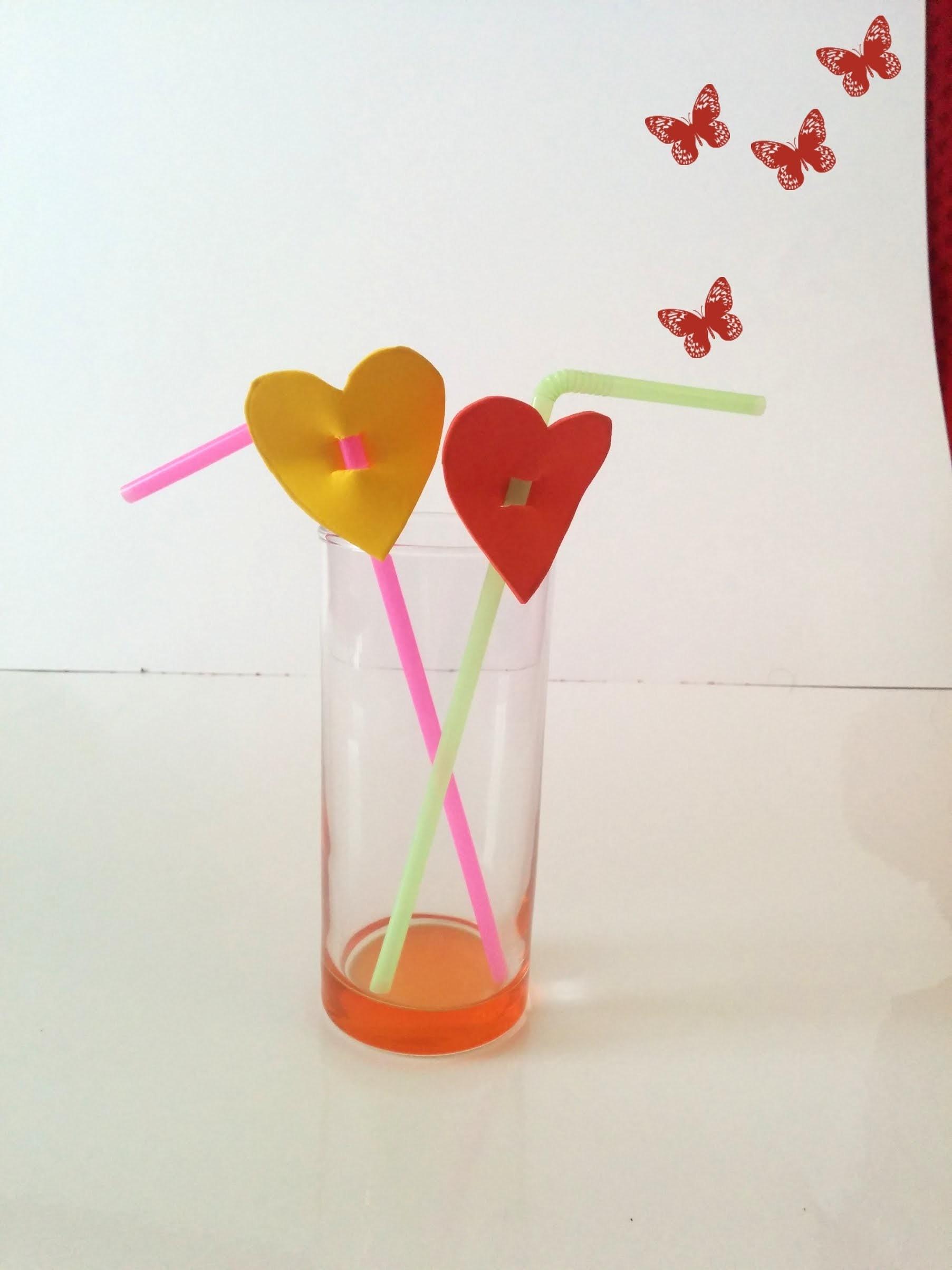Decoración San Valentín, Bebidas con corazones para el día de los enamorados