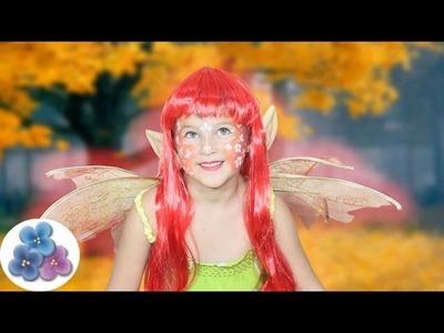 DIY Como pintar la Cara Hada *Fairy Face Painting Ideas* Carnaval Halloween St Patrick Pintura Facil