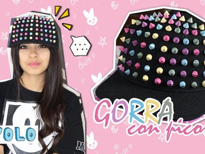 DIY: Gorra con picos | Spike Hat