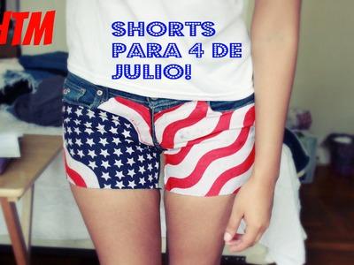 HTM:shorts.cortos para 4 de Julio