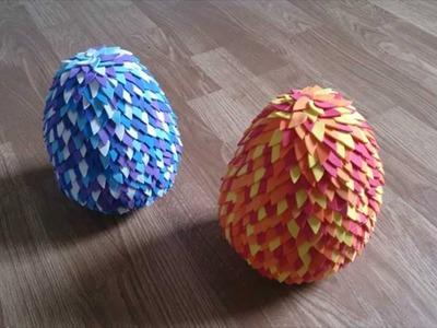 MANUALIDADES: Huevo de dragón