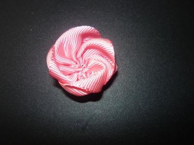 Manualidades y accesorios la hormiga. como hacer una flor en citas. PARTE 2. video No.063
