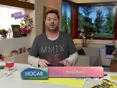 Martín Muñoz - Individuales y Posavasos en decoupage sobre cuerina