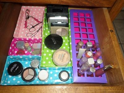 Organizador de cosméticos para cajon