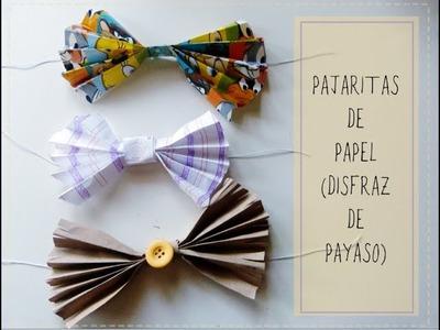 Pajaritas de papel fáciles para fiesta o disfraz de payaso   [Carnaval 2015]