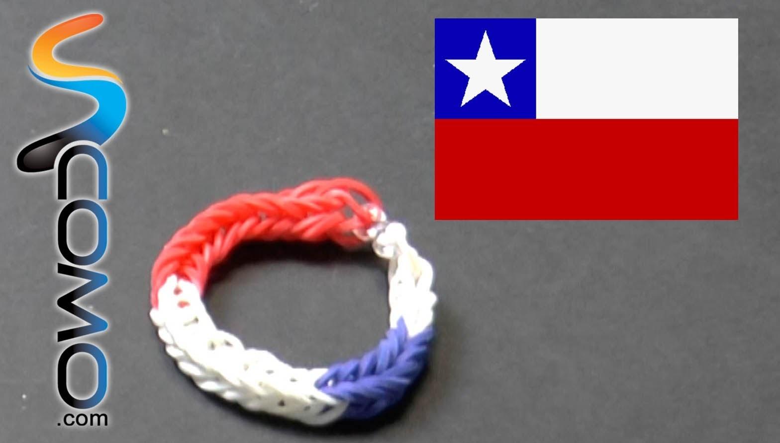 Pulsera de gomitas de Chile