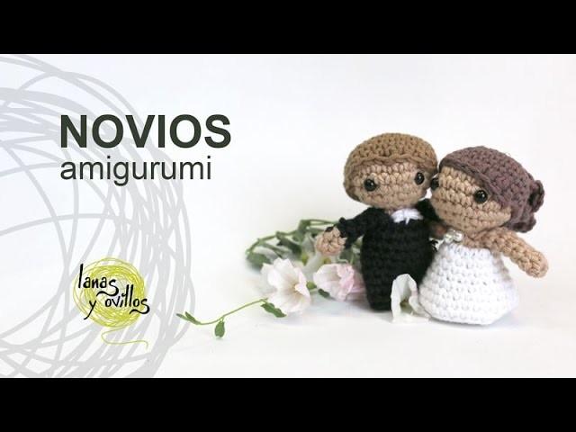 Tutorial Novios Boda Amigurumi Crochet o Ganchillo en Español