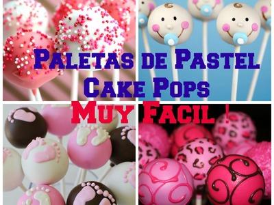 Tutorial Paletas De Pastel Video Bien Explicado (Version Mejorada) - Madelin's Cakes