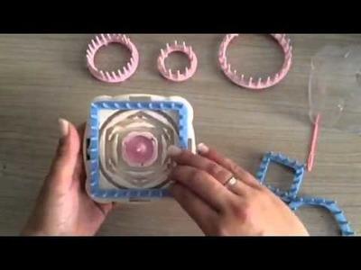 Video Flower Loom presentado por Spunick by Moare Manualidades