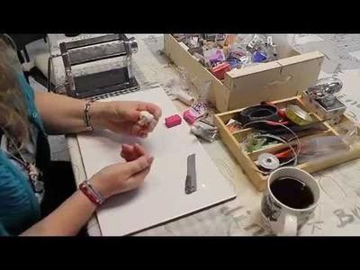 Arcilla polimérica: Cane de rosa con la técnica Skinner Blend
