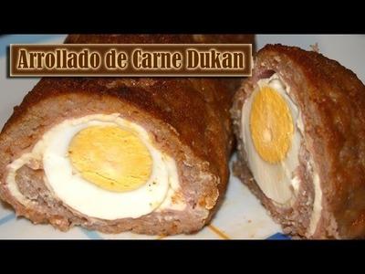 Arrollado de Carne Dukan - Dukan Meat Roll