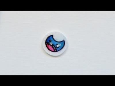Botones de plástico mágico - DIY shrink plastic buttons