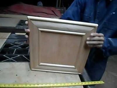 Carpintería - Puertas de 45º (molduras) Pt 2