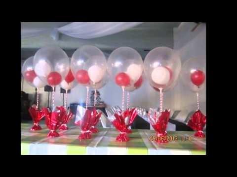 Celebra tu cumpleaños con unos centros de mesa super originales