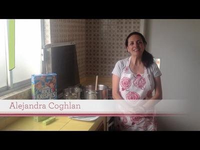 Cómo hacer bolitas de cereal cubiertas de chocolate
