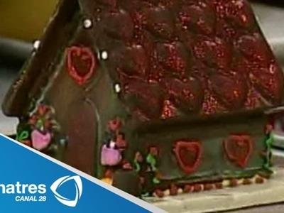 ¿Cómo hacer casitas de chocolate? Chocolatería. Manualidades. Confitería y repostería