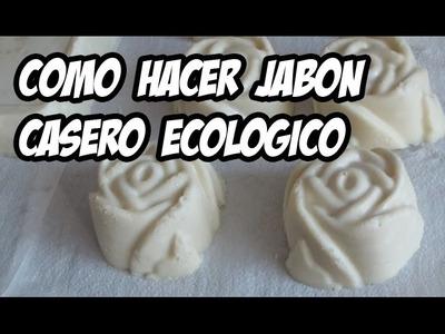 Como hacer Jabón Casero ecológico