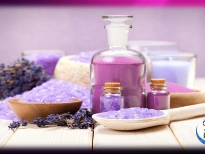 Como hacer sales de baño de lavanda para relajar el cuerpo y aliviar el cansancio