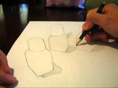 Como hacer un dibujo anamorfico