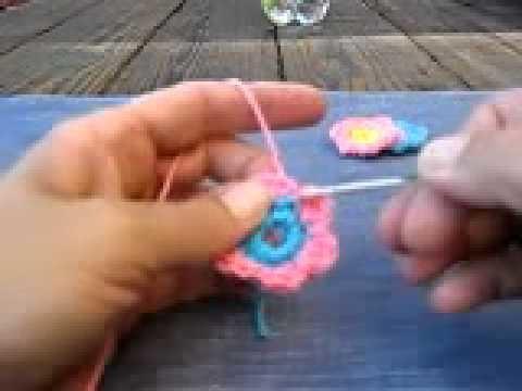 Como Hacer Una Flor Abultada A Crochet En Español [Como Hacer Una Flor De Crochet]