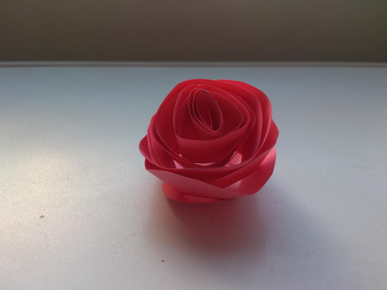 Cómo hacer una rosa de cartulina | facilisimo.com
