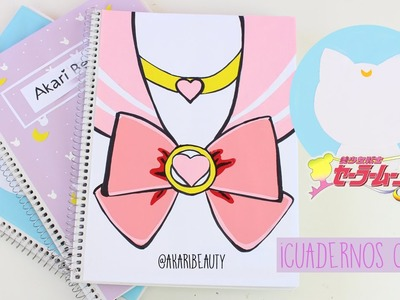 Decorar cuadernos SAILOR MOON - KAWAII | REGRESO A CLASES