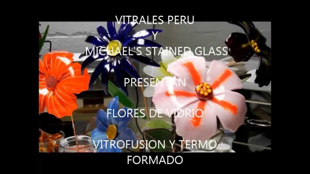 FLORES DE VIDRIO - VITROFUSION Y TERMOFORMADO