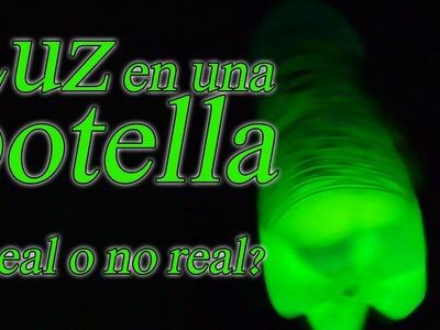 Luz en una botella ¿Real o no real? (Glow Mountain Dew)