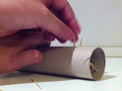 Manualidades: cómo hacer un palo de lluvia casero - manualidades para reciclar