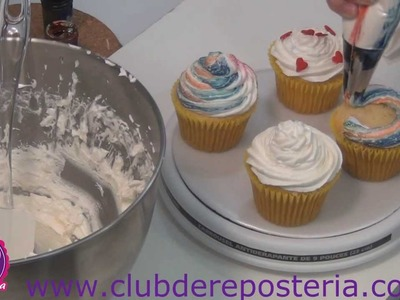 Merengue Italiano con Mantequilla - Italian Meringue Buttercream - 2a  Parte