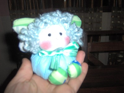 Muñecos Soft. nena alas de tela comunion 1.2. .proyecto 39