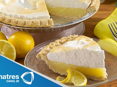 Receta de Pie de Limón con Merengue. Pie de Limón con Merengue